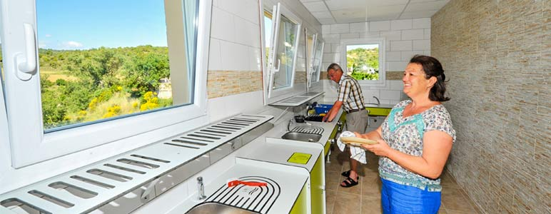 Services camping Ardèche