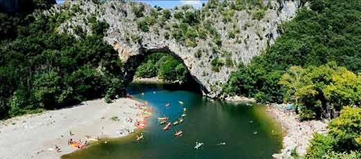 campingplatz ardeche - 4 sterne campingplatz vallon pont d' arc