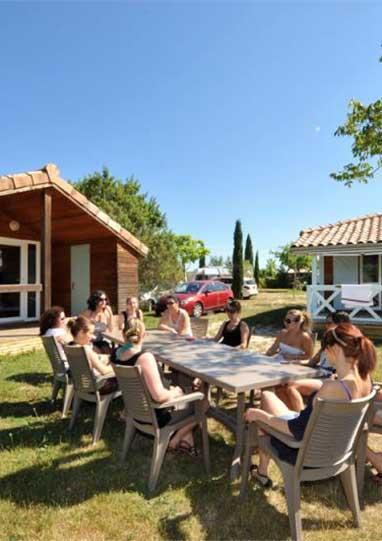 location chalet Ardèche