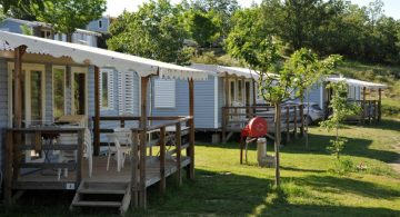 Mobil-home location camping Ardèche