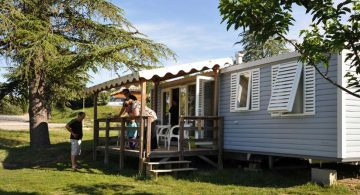 Mobile-home camping Ardèche
