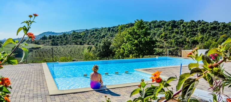 Camping Ardeche Swimming Pool Camping Vallon Pont DArc With - Camping a vallon pont d arc avec piscine