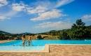 Piscine hôtel plein air Ardèche