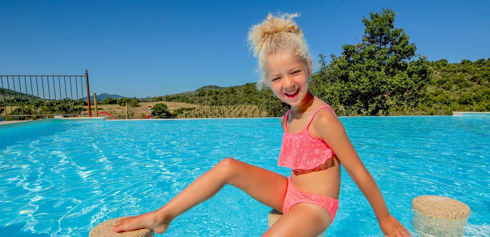 Camping avec piscine pour enfants Ardèche