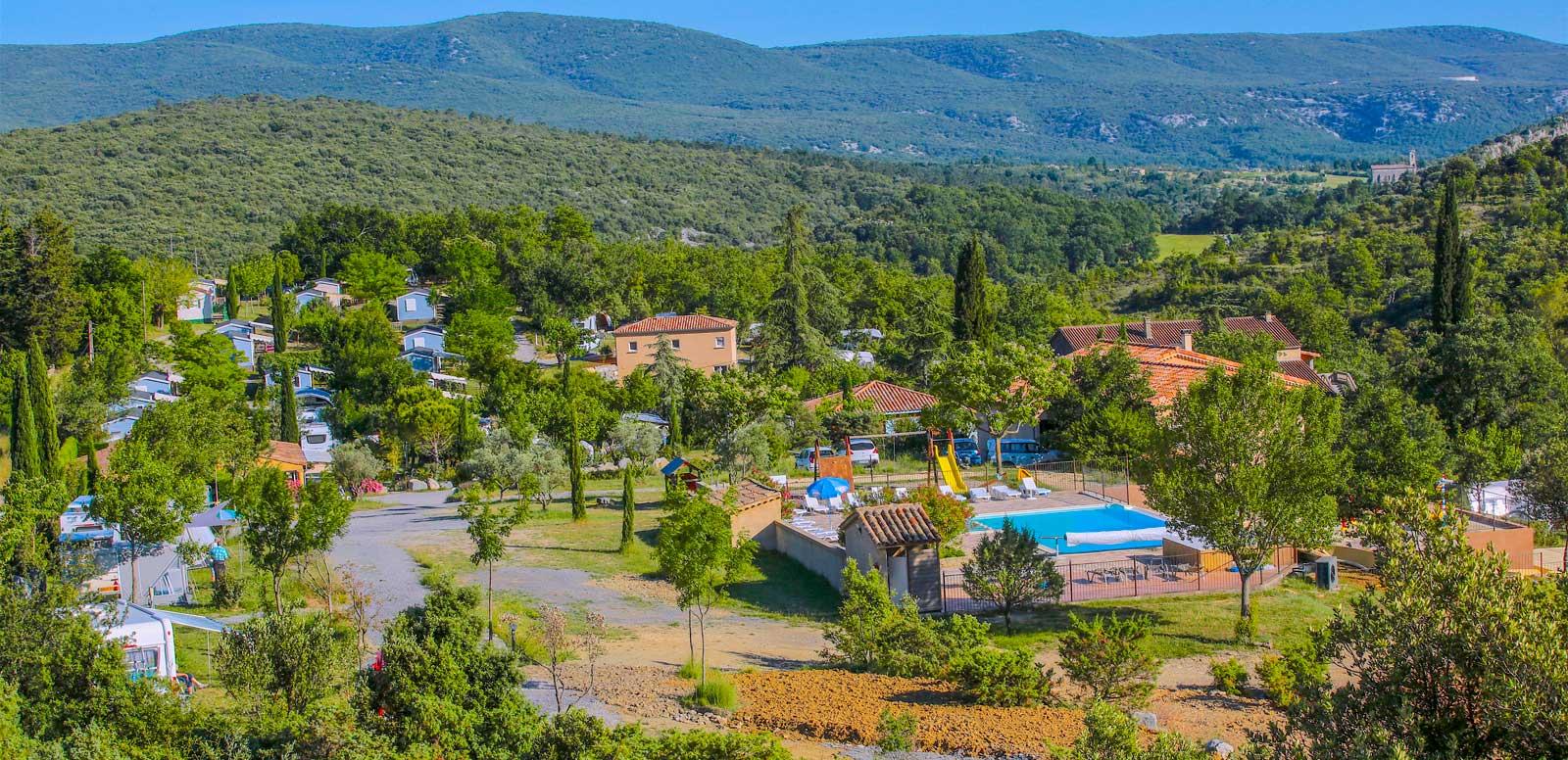 Vacances en camping Ardèche